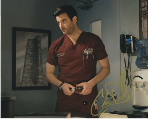 Colin Donnell Chicago Med  Autographed Signed 8x10 Photo COA 2019-4