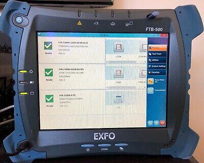 Exfo Ftb-500 Ftb-5240s-p Osa Ftb-7300d 13101550 Otdr Or Ftb-7200d Mmsm