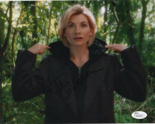 Jodie Whittaker Doctor Who Autographed Signed 8x10 Photo JSA COA #S2