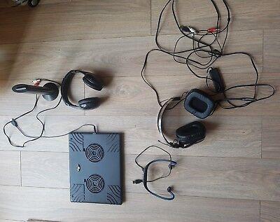Joblot headphones teknique, ex-05s, cooler pad
