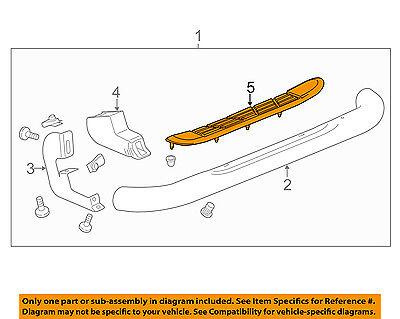GM OEM Running Board Step-Step Pad Grip Cover 22913033