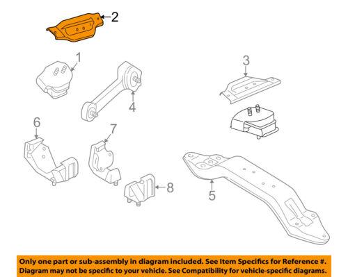 details about subaru oem 93-01 impreza-engine motor mount torque strut  41031fa080
