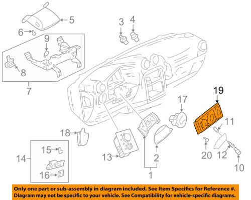 Details about Pontiac GM OEM Aztek-Climate Control Unit Temperature Fan  Heater A/C 10301043
