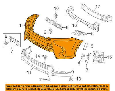 TOYOTA OEM 17-18 Highlander-Bumper Cover 521190E937