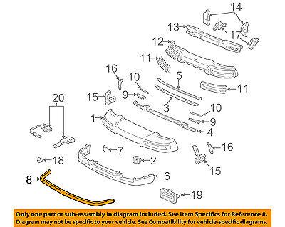 Acura HONDA OEM 91-01 NSX-Spoiler / Wing Kit 71110SL0003 ()