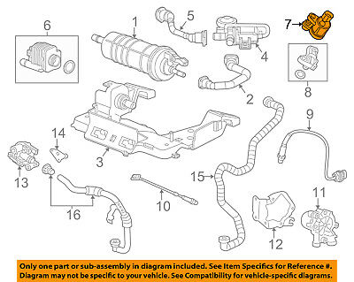 GM OEM-Vapor Canister Purge Solenoid 55593172