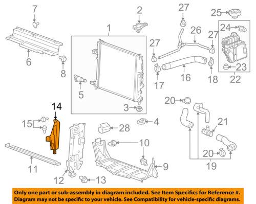 Genuine GM Lower Baffle 23124765
