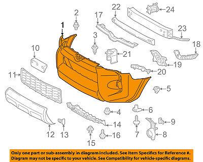 TOYOTA OEM 14-18 4Runner-Bumper Cover 5211935912