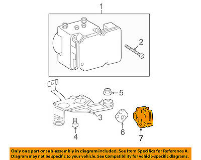 TOYOTA OEM 07-15 Tundra ABS Anti-lock Brakes-Yaw Rate Sensor 891800C060