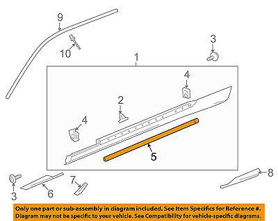Chevrolet GM OEM 10-15 Camaro Exterior-Lower Weatherstrip Seal Left 20969769