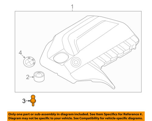 details about bmw oem 11 18 x5 3 0l l6 engine appearance cover engine cover screw 11127593207 L6 Engine Diagram l6 engine diagram wiring diagrams
