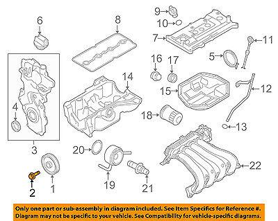 Chevrolet GM OEM 04-08 Aveo Engine Parts-Crankshaft Crank Pulley Bolt 94501119