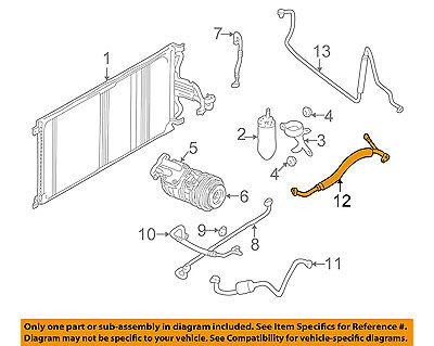(JAGUAR OEM 98-02 XJ8-A/C AC Hose Line Pipe MJA7310AH)