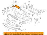 VW VOLKSWAGEN OEM 15-16 Jetta Trunk Lid-License Plate Bracket 1KM827211A