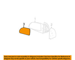 GM-OEM-Outside-Mirrors-Front-Door-Mirror-Glass-Right-22629356