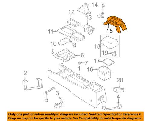 Genuine Hyundai 46750-3D100 Shift Lever Indicator Assembly