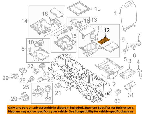 HYUNDAI Genuine 82370-33000-AU Door Map Pocket