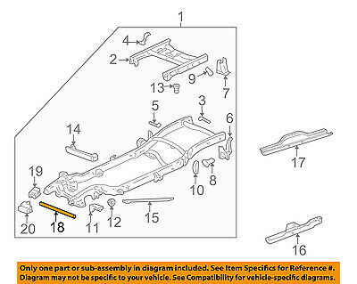 GM OEM FRAME-Front Cross Member 22833941