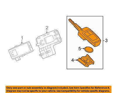 Chevrolet GM OEM 13-15 Spark Keyless Entry-Key Fob Remote Transmitter 95233524