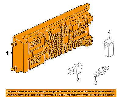 LAND ROVER OEM 14-15 Range Rover 5.0L-V8-Electrical Fuse & Relay Box LR068358