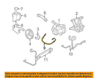 Chevrolet GM OEM 05-10 Corvette-Power Steering Pressure Hose 15903240