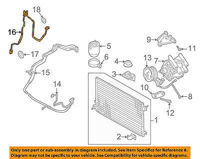 (JAGUAR OEM 02-06 S-Type-A/C AC Hose Line Pipe XR842545)
