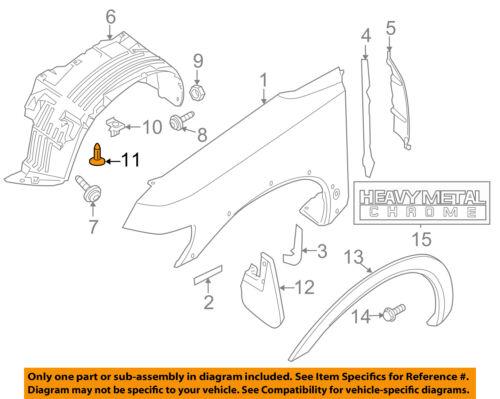 20x radlauf revestimiento paso de rueda pantallas clips para nissan Nfiniti