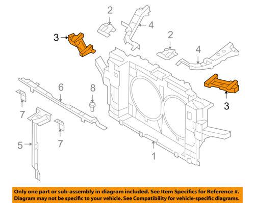 Infiniti NISSAN OEM 11-13 G37 Front Bumper-Lamp Bezel Right 622561NL0A