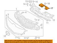 NISSAN OEM 12-18 Versa Rear Bumper-Closure Panel Right 788183BB1A