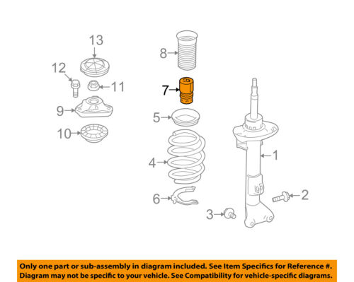 MERCEDES OEM 10-11 E63 AMG Front Suspension-Bumper 2123210806