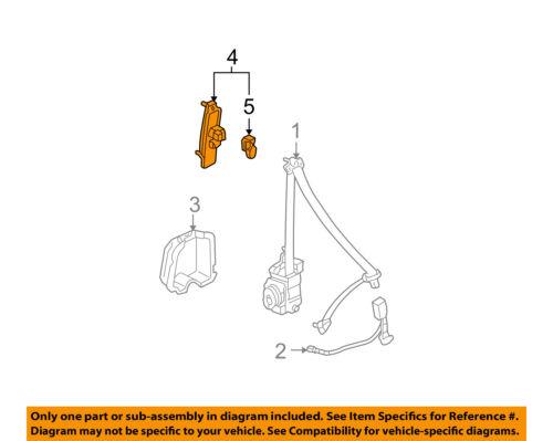 A-Premium Rear Passenger Door Lock Actuator for 1999-02 Toyota 4Runner 746-821