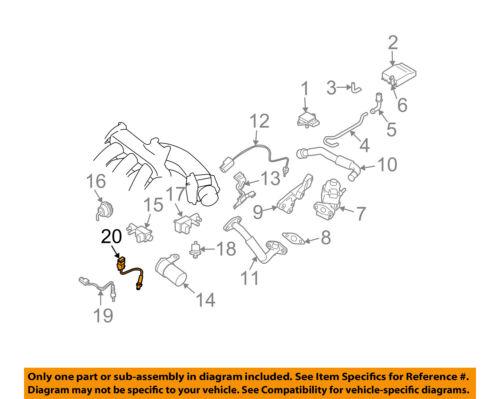 NISSAN OEM-Oxygen O2 Sensor 226937Y020