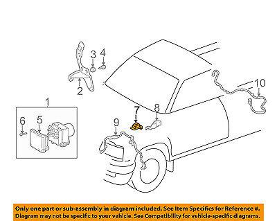 TOYOTA OEM Tacoma ABS Anti-lock Brakes-Decel Deceleration Switch 8944004020