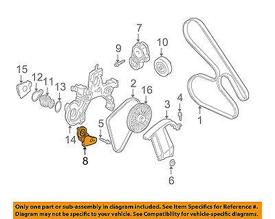 GM OEM-Serpentine Fan Belt Tensioner 12555153