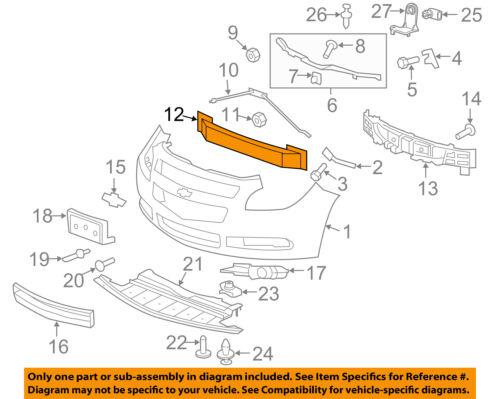 FORD OEM Front Bumper-Impact Bar Reinforcement Rebar Bolt W707050S436