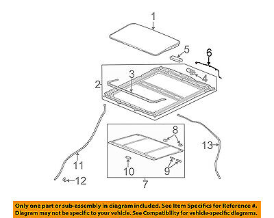 GM OEM Sunroof-Harness 19121116 Webasto Solaire Wiring Diagram on