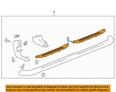 GM OEM Running Board-Step Pad Grip Cover 19203047