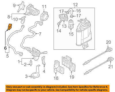 AUDI OEM 13-17 A6 Quattro Emission-Pressure Sensor 06L906052