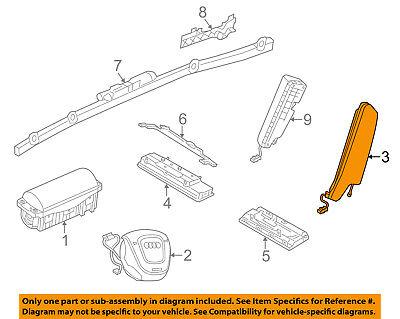 AUDI OEM 15 16 A3 Airbag Air Bag SRS Side Impact Inflator Module 8V5880241A
