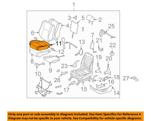 TOYOTA Genuine 71072-0C280-C1 Seat Cushion Cover