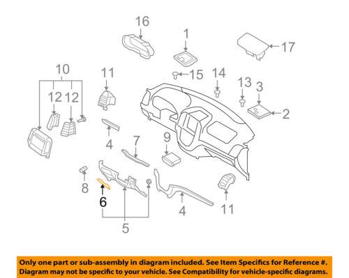 Genuine Hyundai 84753-0W000-J4 Fuse Box Cover Assembly
