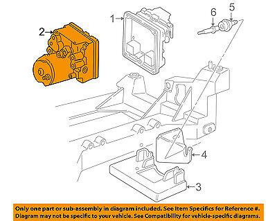 Chevrolet GM OEM 01-04 Corvette ABS Anti-Lock Brakes-Modulator 10343432