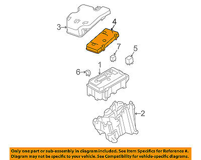 GM OEM Electrical-Fuse Relay Box Upper Cover 15947863