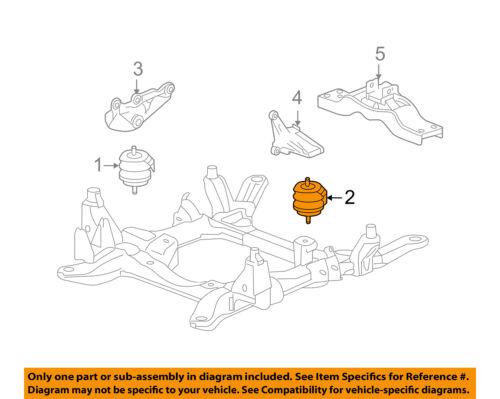 Cadillac GM OEM 05-11 STS-Engine Motor Mount/Torque Strut 25971093