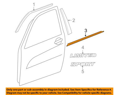 [SCHEMATICS_4US]  TOYOTA OEM RAV4-Door Window Sweep-Belt Molding Weatherstrip Left 757200R011  | eBay | 2007 Rav4 Engine Diagram |  | eBay