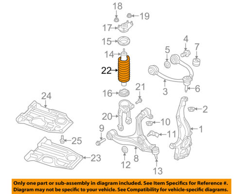 Details About Jeep Chrysler Oem 05 06 Grand Cherokee Front Suspension Spring 52124010ae