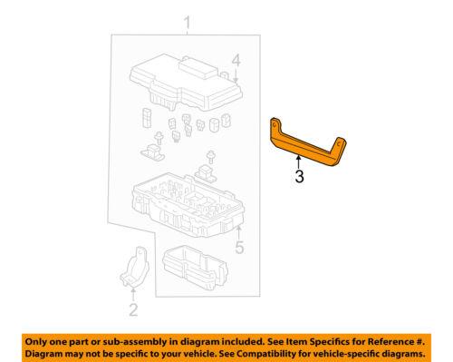 01 05 civic fuse box diagram honda oem 01 05 civic electrical fuse box bracket 38252s5a000 ebay  honda oem 01 05 civic electrical fuse