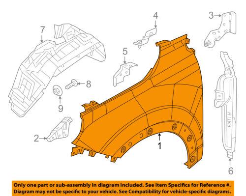 FIAT OEM 17-18 500X EXTERIOR TRIM-FENDER-Wheel Opening Molding Right 6LR26U5LAA