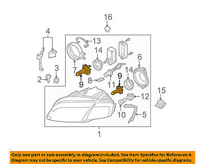 AUDI OEM 98-09 A4 Quattro-Headlight Headlamp Bulb N10320102