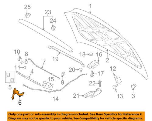 Genuine Honda Parts 74120-SNE-A11 Hood Latch